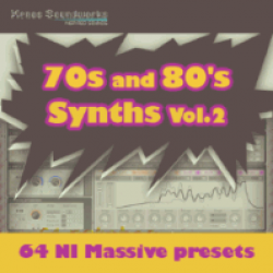 Massive - 70s and 80s Synths Volume 2