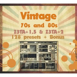 'Vintage 70s and 80s' for Z3ta+ and Z3ta 2