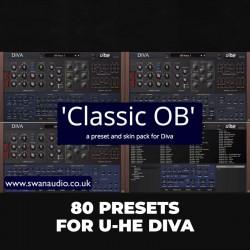 Classic OB - Presets for U-he Diva