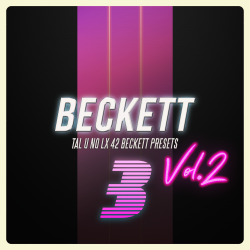 Beckett - Tal U No LX - 42 Presets Vol.2